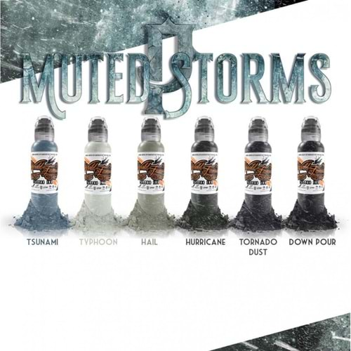 WORLD FAMOUSE POCH`S MUTED STORMS SET 1OZ